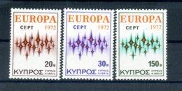 A25888)Zypern 374 - 376**, Cept - Ungebraucht