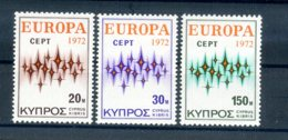 A25889)Zypern 374 - 376**, Cept - Ungebraucht