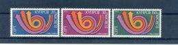 A25891)Zypern 389 - 391**, Cept - Ungebraucht