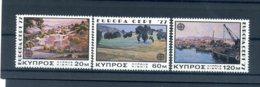 A25899)Zypern 464 - 466**, Cept - Ungebraucht