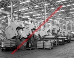 Ford Genk Autofabriek In April 1967 - Photo 15x23cm - Industry Car Factory - Automobiles