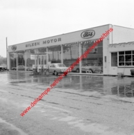 Bilzen Motor Ford Garage In Juli 1966 - Photo 15x15cm - Automobiles