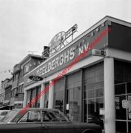 Ford Garage Meelberghs In Juli 1966 - Photo 15x15cm - Automobiles