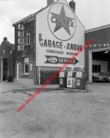 Ford Garage André In Juli 1966 - Photo 15x15cm - Caltex - Automobiles