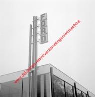 Ford Garage De Kort In Juli 1966 - Photo 15x15cm - Automobiles