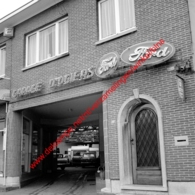 Ford Garage D. Ogiers In Juli 1966 - Photo 15x15cm O. Permeke - Automobiles