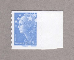 Marianne De Beaujard Autoadhésif YT 216 1,25€ Bleu Ciel 2008 Neuf - 2008-13 Marianne Of Beaujard