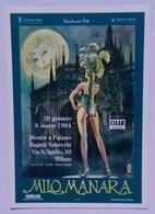 Cartolina MILO MANARA - Mostra A Milano - PromoCard N° 372 - Non Viaggiata - Bandes Dessinées
