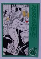 Cartolina ENEA RIBOLDI - Pubblicità Grilloparlante Milano - PromoCard N° 194 - Non Viaggiata - Bandes Dessinées