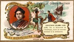 Chromos - GUERIN BOUTRON  CHRISTOPHE COLOMB - Guerin Boutron