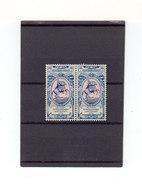Russie. 1905. Yvert 57 Deux Tmbres. ** TB Sans Charnière. Bienfaisance. (2012t) - Unused Stamps