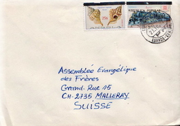 Postal History Cover: Angola Cover From 1981 With Overprinted Stamps - Angola