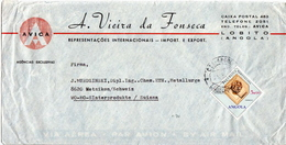Postal History Cover: Angola Cover - Minerals