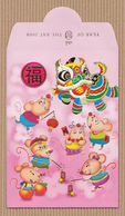 CC Chinese New Year YITAI 2008 RAT - SOURIS CHINOIS Red Pockets CNY RARE!!! 2008! - Modern (from 1961)