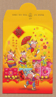 CC Chinese New Year YITAI 2009 OX - BOEUF CHINOIS Red Pockets CNY RARE!!! 2009! - Modern (from 1961)