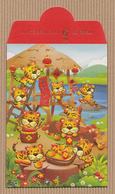 CC Chinese New Year YITAI 2010 TIGER - TIGRE CHINOIS Red Pockets CNY RARE!!! 2010! - Modern (from 1961)