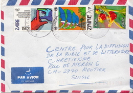 Postal History Cover: Zaire Cover - Plants