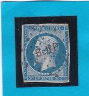 """N° 14 A   - AMBULANT DE FRANCE """"  Belf P  """"  -  REF 14616 - 1853-1860 Napoléon III"""