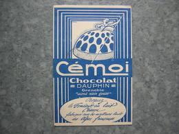 CHOCOLAT CEMOI - Publicité