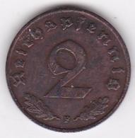 2 Reichspfennig 1939 F (STUTGART) Bronze - [ 4] 1933-1945 : Third Reich