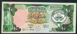KUWAIT P15c 10  DINARS 1980 Signature 3     UNC. - Kuwait
