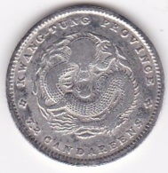 KWANGTUNG PROVINCE. 10 Cents ND (1890-1908), En Argent, Y# 200 - China