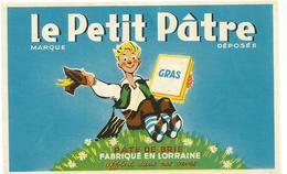 Etiquette Fromage Le Petit Patre - Cheese