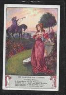 AK 0379  Der Trompeter Von Säkkingen ( Lied Jung Werners ) - Künstlerkarte Um 1910-20 - Peintures & Tableaux