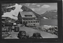 AK 0379  Hotel Grimsel-Passhöhe ( Busse ) - Verlag Würgler Um 1950 - Busse & Reisebusse
