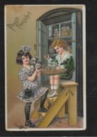 AK 0379  Prosit Neujahr Um 1910 - Neujahr