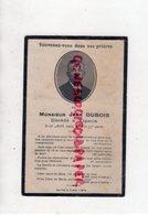 19 - VIGEOIS - CARTE AVEC PHOTO  JEAN DUBOIS DECEDE LE 11 AVRIL 1922- JESUS CHRIST SUR LA CROIX   -    CORREZE - Documenti Storici
