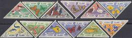 HERM ISLAND - 1954 - Serie Completa Di 12 Valori Nuovi MH/MNH, Come Da Immagine. - Guernesey