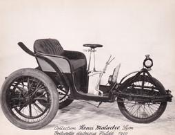 Collection Henri Malartre, Lyon, Voiturette Electrique Mildé 1900 - Voitures De Tourisme