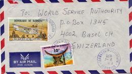 Postal History Cover: Djibouti Cover - Djibouti (1977-...)