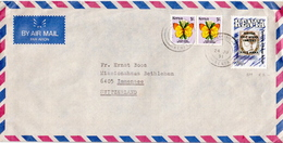 Postal History Cover: Kenya Cover - Stamps On Stamps