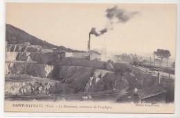 CPA Saint-Raphaël, Le Dramont, Carrières De Porphyre - Saint-Raphaël