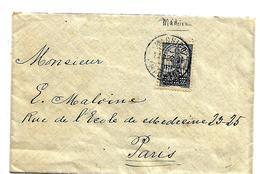 Mad013 / MADEIRA - Don Pereira, Mi.Nr. 563) Ex Madeira Nach Paris. Nur 2 Monate Gültig - Madeira
