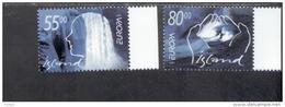 CEPT Lebensspender Wasser Island 981 - 982 MNH ** Postfrisch - 2001
