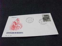 REPUBBLICA ITALIANA F.D.C. SOLE 29 CENTENARIO DI BEZZECCA GARIBALDI OBBEDISCO 1966 - 6. 1946-.. Repubblica