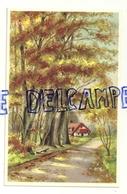 Maison Dans Une Forêt En Automne. Coloprint 7234 - Autres Illustrateurs