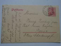 ZA250.17  Postkarte KORNTAL KORNTHAL  1910  Ganzsache   Deutsches Reich 10 Pf.  Nach  Paris - Hotel Prince Eugen - Covers & Documents
