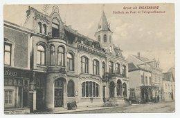 Prentbriefkaart Postkantoor Valkenburg 1908 - Pays-Bas