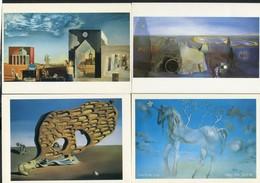 LOT DE 10 CARTES POSTALES CPM SUR SALVADOR DALI - Postkaarten