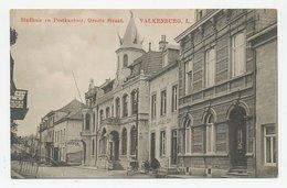 Prentbriefkaart Postkantoor Valkenburg 1916 - Pays-Bas