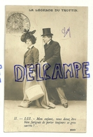 Photographie. La Légende De Trottin. Couple. 1903 - Illustrateurs & Photographes