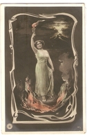 FAN 009  OLD POSTCARD , FEMALE FANTASY , ANGELS , ELFQUEST ,GNOMES - Femmes
