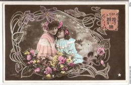 FAN 010  OLD POSTCARD , FEMALE FANTASY , ANGELS , ELFQUEST ,GNOMES - Femmes