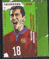 ARMENIA , 2019, MNH, FOOTBALL, FAMOUS PLAYERS, HENRIKH MKHITARAYAN, 1v - Soccer