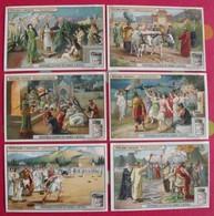 6 Chromo Liebig. Empereurs Romains. 1907. S 928. Chromos. édition Française - Liebig