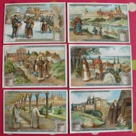 6 Chromo Liebig. Cloîtres Célèbres. 1909. S 950. Chromos. édition Française - Liebig
